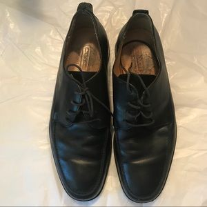 Coach Lace Up Carlton Black Loafers size 7.5 B